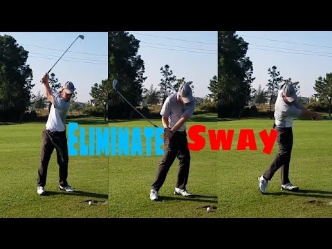 Why Do I sway in my golf swing? | How to fix the SWAY in your golf swing.