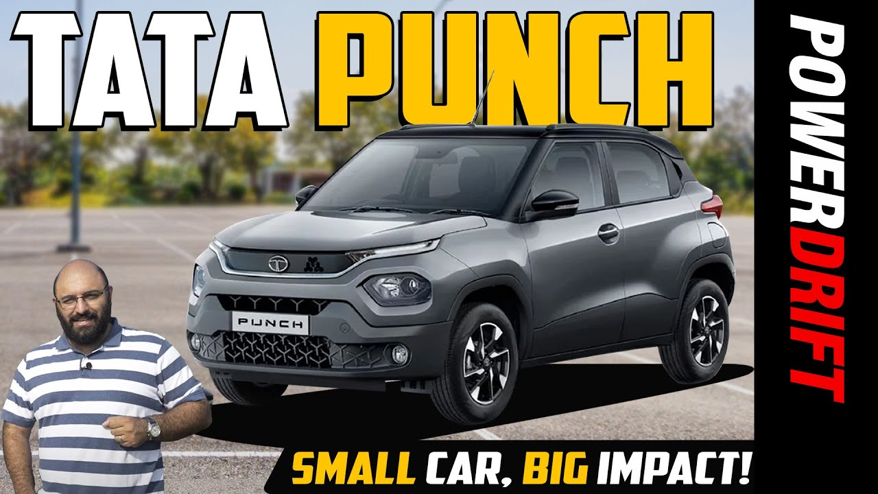 Tata Punch - SUV Enough? Can it knock out competition? | First Drive Review | Powerdrift