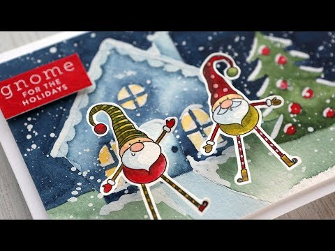 Holiday Card Series 2019 – Day 11 – Christmas Gnomes