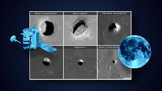 NASA | Peeking Into Lunar Pits
