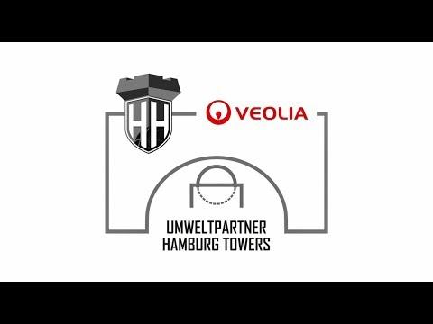 Veolia wird Umweltpartner der Hamburg Towers
