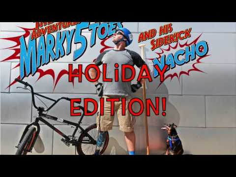 The Adventures of Marky5Toes and his Sidekick Nacho Holiday Edition!
