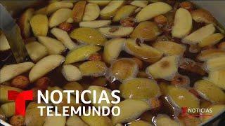 Así se prepara el tradicional ponche de frutas para deleitar tu paladar   Noticias Telemundo