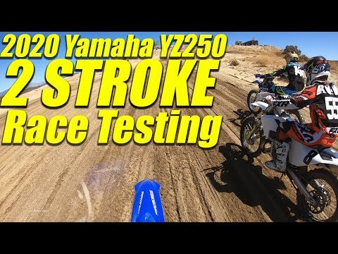 2020 Yamaha YZ250 2 Stroke Race Testing - Motocross Action Magazine