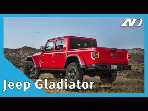 Jeep Gladiator - El Pick-Up más capaz de su clase - #LAAS