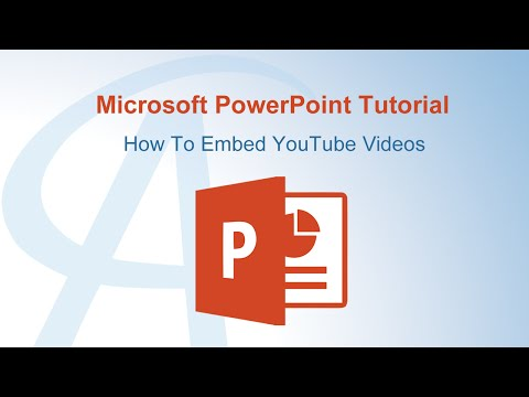 How To Embed YouTube Videos In PowerPoint