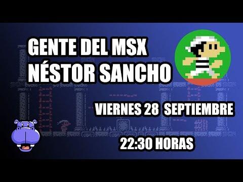 Gente del MSX (I): Néstor Sancho