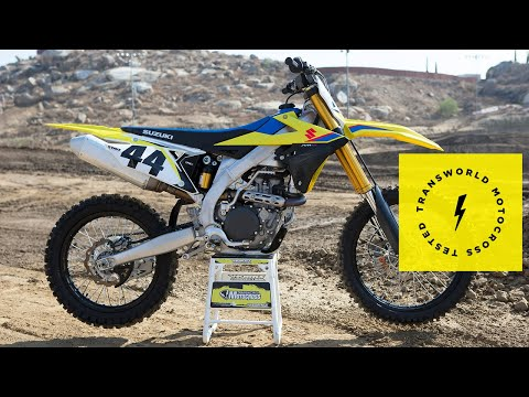 Technical Briefing Of The 2019 Suzuki RM-Z450
