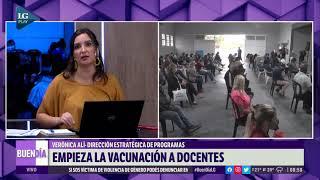 Comienza la vacunación a los docentes en Tucumán: