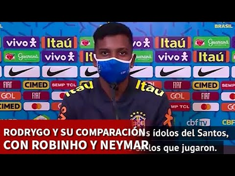 REAL MADRID BRASIL | RODRYGO y su comparación con NEYMAR | DIARIO AS