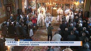 Bucurie duhovniceasca pentru credinciosii Parohiei Sarata