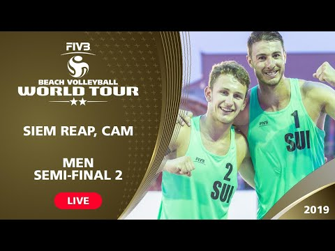 Siem Reap 2-Star 2019 - Men Semifinal 2 - Beach Volleyball World Tour