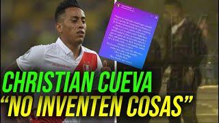 CHRISTIAN CUEVA SE PRONUNCIÓ POR SUPUESTA INDISCIPLINA ANTES DE LA COPA AMÉRICA SELECCIÓN PERUANA