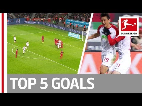 Top 5 Goals on Matchday 18 - James, Werner, Ribery and More