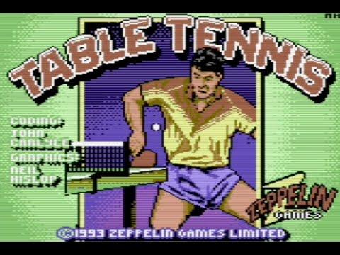 RETROJuegos Clásico - International Table Tennis © 1993 Zeppelin Games - Commodore 64