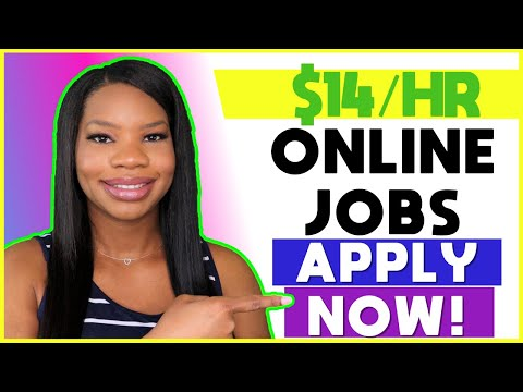 🏡 $14 HOURLY Online Work-From-Home Jobs! Paid Training & Lots of Hours Available! | Apply TODAY!