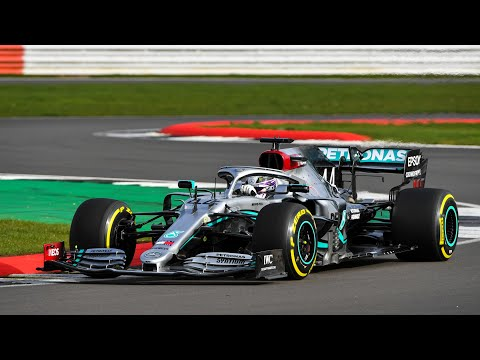 W11 Hits the Track for the First Time! Launching our 2020 F1 Car