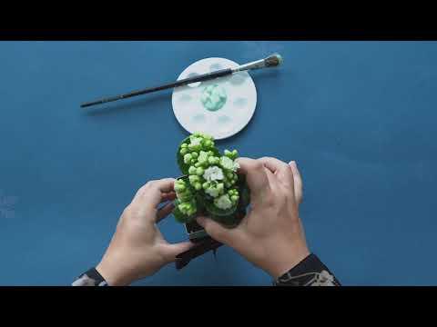 Lav din egen potteskjuler - juleklip med Arla® ØKO mælkekartoner