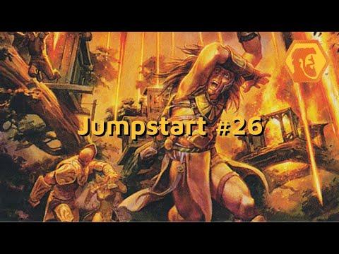 MTGA Jumpstart #26 - Arqueologia Sísmica