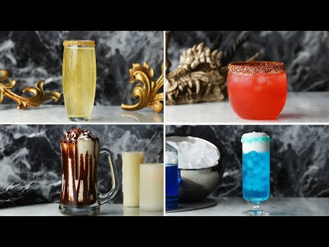 How To Make Game of Thrones Cocktails For The Premiere ? Tasty