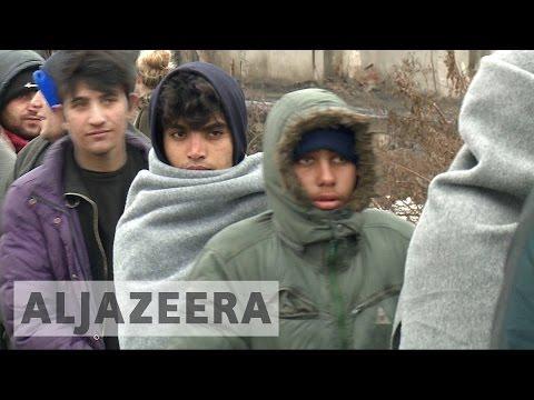 Unaccompanied refugee children roam streets of Serbia's Belgrade