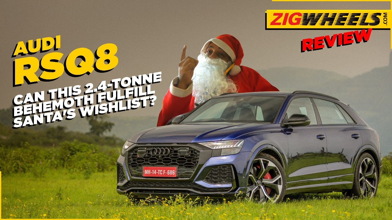 Audi RSQ8 Review | Santa's Little Hellraiser! | Zigwheels.com