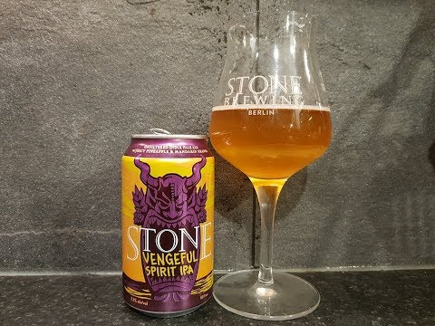 Stone Vengeful Spirit IPA By Stone Brewing Company   American Craft Beer Review