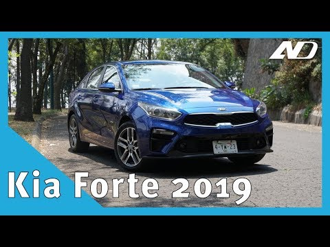 Un día con el nuevo Kia Forte 2019 - Primer vistazo