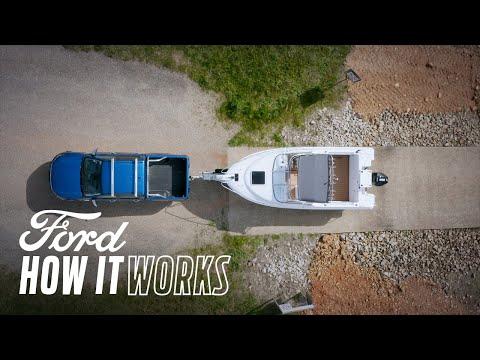 Rygge en tilhenger i en rett linje | Ford Ranger | Ford Norge