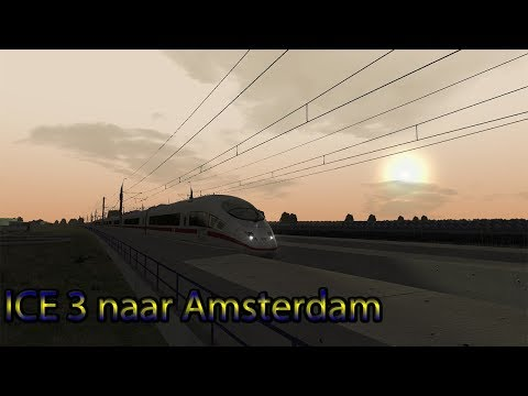 Over de HSL met de ICE 3 - Train Simulator 2018
