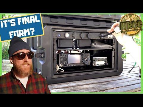 ICOM IC 7300 Ham Radio Go Box, It's Final Form?