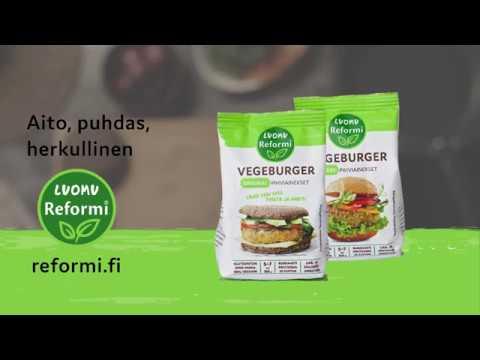 Reformi Luomu Vegeburger