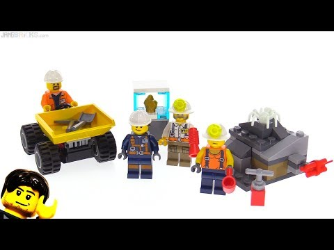 connectYoutube - LEGO City Mining Team review! 60184