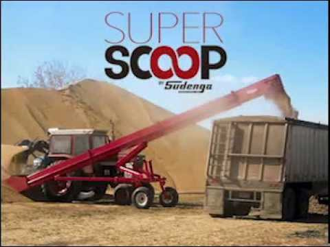 11,000 BPH Super Scoop by Sudenga - Clean up piles of grain quickly!
