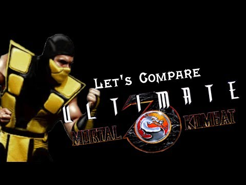 Let's Compare ( Ultimate Mortal Kombat 3 )