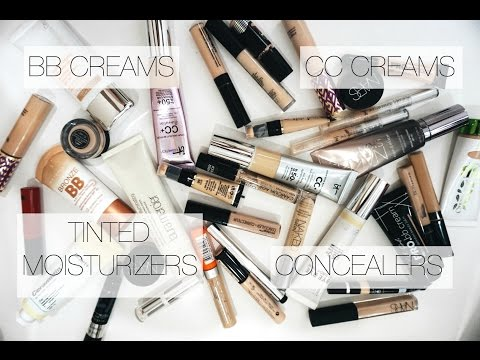 Make Up Collection + Storage | Concealers + BB Creams, Tinted Moisturizers,