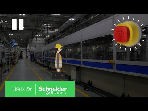 Işıklı Acil Durdurma Butonu - Zaman Kazandırır | Schneider Electric