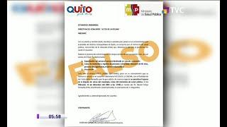 Alerta en Quito por falso censo para acceder a vacuna contra el Covid-19