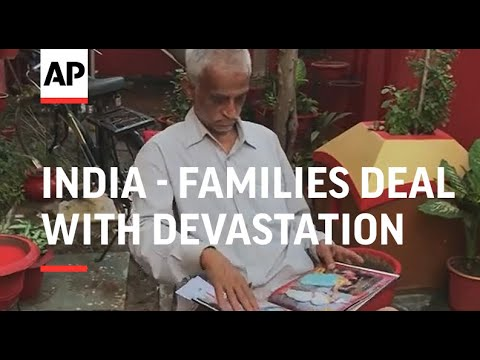 As India's surge wanes, families deal with devastation