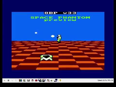 """preview de nuevo juego """"Space Phantom"""" creado con 8BP v33"""