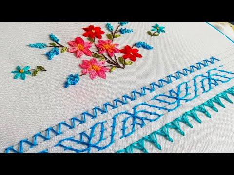 Embroidery: Decorative stitches Hindi * Urdu | Вышивка: Декоративные стежки