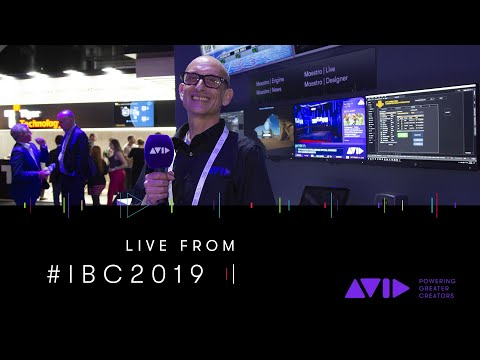 #AVID #IBC2019 LIVE ⏩ Maestro Graphics — Powerful graphics for every broadcast need