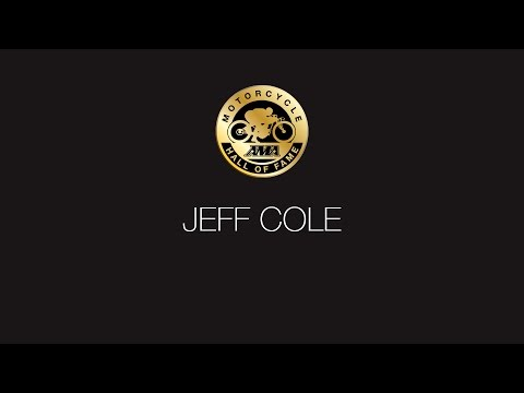 Jeff Cole Presentation and Acceptance Speech