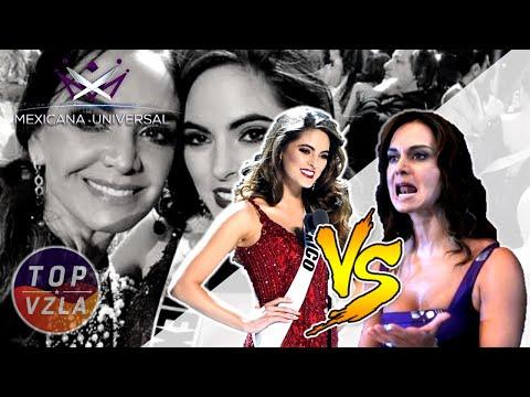 ¡ARDE MEXICANA UNIVERSAL! Lupita Jones VS Sofia Aragón - (CHISME COMPLETO)