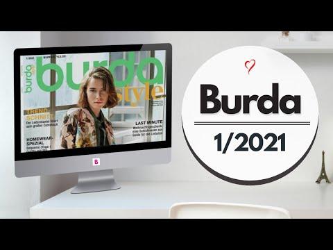 Электронная пресса/Немецкая Burda 1/2021