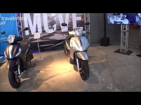 PIAGGIO BEVERLY scooters 2019