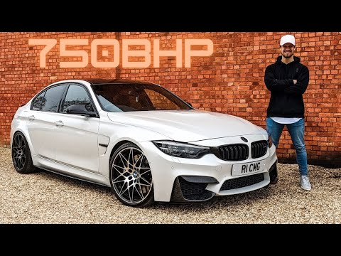Insane 750BHP BMW M3 Nearly Killed Me!!