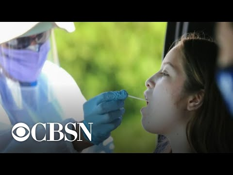 U.S. COVID-19 cases rise despite vaccine efforts