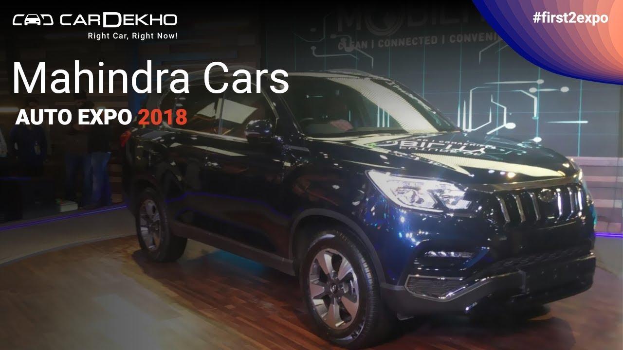 మహీంద్రా ఎటి ఆటో ఎక్స్పో 2018 | #first2expo | e-kuv 100, స్ట్రింగర్, రెక్స్టన్