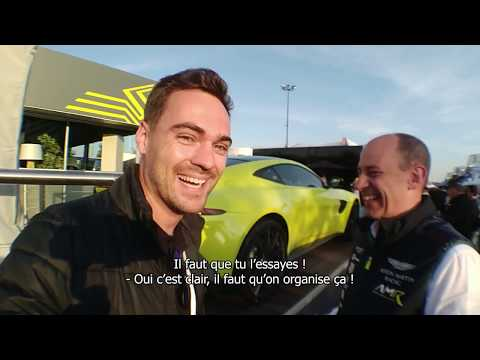 Discovering the new Aston Martin Vantage with David King!